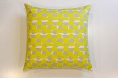 Modern Yellow Pillow Cover
