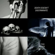 My aesthetic of the death god, Thanatos, I hope that you like it