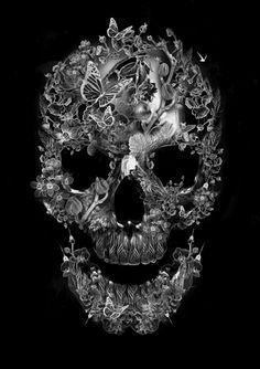 Dark Art Skull Illustrations 37 Ideas For 2019 Tatoo Art, Tattoo Drawings, Art Mort, Totenkopf Tattoos, Skull Wallpaper, Human Skull, Art Graphique, Skull Tattoos, Skull And Bones