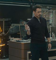 Tony Stark (RDJ) in Avengers: Age of Ultron