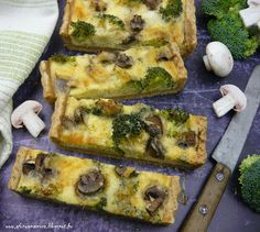 Az áfonya mámora: Brokkolis pite