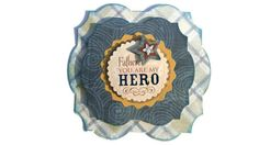 father's day dad hero Scrapbook embellishment Paper by itsmemanon, $2.00
