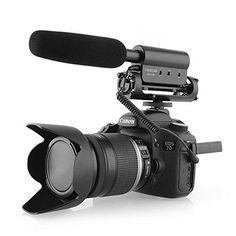 Camera Mic, Canon Dslr Camera, Video Camera, Best Camera, Diy Camera Slider, Dslr Camera Reviews, Dslr Accessories, Microphone For Sale, Interview