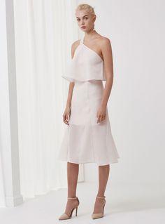 Keepsake Float Dress – Oyster