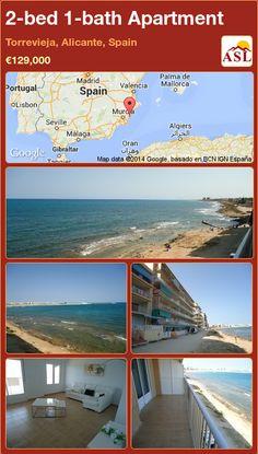 2-bed 1-bath Apartment in Torrevieja, Alicante, Spain ►€129,000 #PropertyForSaleInSpain