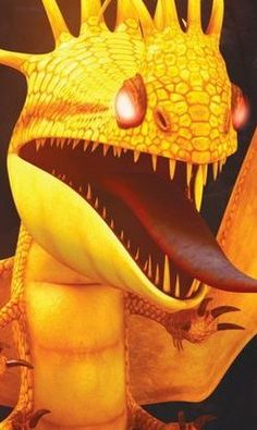 """Fireworm is a stoker class dragon first featured in Cartoon Network's 2012 series """"Dragons: Riders of Berk."""""""