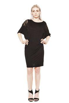 AW15 DR441 Little black dress