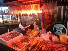 Night stalls, Phuket