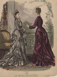 La Mode Illustrée 1875