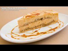 Receita de Semi-Frio de Caramelo - YouTube
