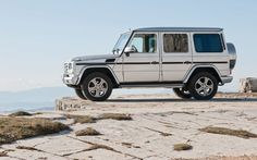 2013 Mercedes Benz G Class Wagon, all silver or all black