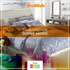 Yeni bir güne rengarenk uyanmak için birbirinden şık nevresim takımları İzmir Park Özdilek mağazasında!