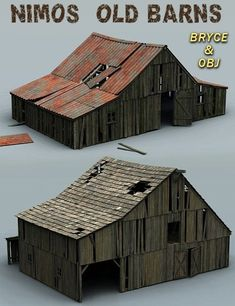 Nimos Old Barns is a environments and props, cityscape/building, Bryce for Daz Studio or Poser created by Nimos.