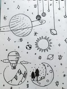 Doodle art 768215648922742687 - My own dessin Source by chovinethel Easy Doodles Drawings, Easy Doodle Art, Doodle Art Drawing, Art Drawings Sketches Simple, Simple Tumblr Drawings, Cute Easy Doodles, Drawing Ideas, Space Drawings, Mini Drawings