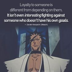 Anime Quote: Bleach This is why Kenpachi is just awesome Bleach Anime, Bleach Art, All Anime, Anime Love, Manga Anime, Anime Qoutes, Manga Quotes, Blade Runner, Bleach Quotes