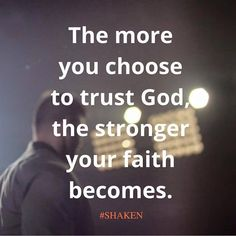 trust God...not #shaken #Tim #Tebow
