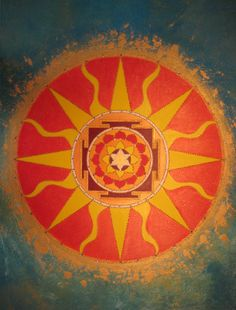 Mandalas, Yantras, and Sacred Geometry: Sun Yantra