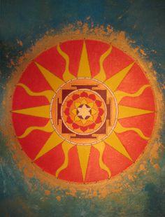 Mandalas, Yantras, and Sacred Geometry: Sun Yantra