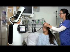RP-VITA navigates in ER:  The RP-VITA telemedicine robot navigates through the ER for Jason Knight, MD to visit a patient during a clinical validation process at Hoag Hospital.  The RP-VITA was developed by InTouch Health and iRobot.