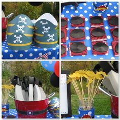 diy pirate invitations   Some of Captain Wyatt's pirates (that is ROOTBEER in Captain Wyatt's ...