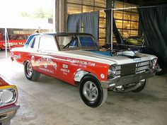 Sox and Martin switched from Mercury to Plymouth for 1965...
