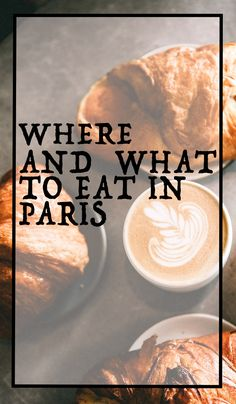 Discover where the best restaurants in Paris are. Learn what to eat in Paris for an authentic Parisian experience. From budget to upscale, we've got you covered for every meal of the day. #cafesinparis #parisfoodies #visitparis #foodguide #traveltheworld #frenchfood #france