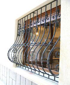 House Window Design, Window Grill Design, Iron Window Grill, Iron Windows, Metal Gates, Apartment Interior Design, My Dream Home, Wrought Iron, Metal Art