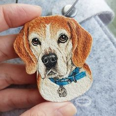 Marvelous Crewel Embroidery Long Short Soft Shading In Colors Ideas. Enchanting Crewel Embroidery Long Short Soft Shading In Colors Ideas. Chinese Embroidery, Embroidery Patches, Embroidery Jewelry, Crewel Embroidery, Embroidery Thread, Beaded Embroidery, Embroidery Patterns, Dog Crafts, Thread Painting