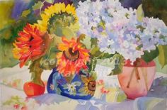 Quaint Country Patterns, painting by artist Kay Smith
