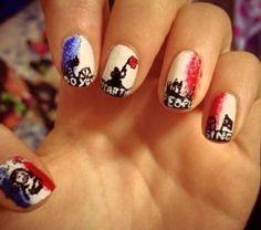 Beautiful les mis nails