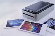 'SnapJet' Scans Photos From Your Phone's Screen, Prints Them As Polaroids
