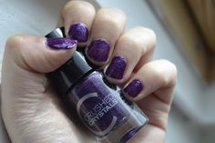 Mijn paarse lievelings nagellak! #catrice #nagellak #nailpolish #purple #paars #Crystals