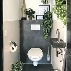 They are all fake but I dont care. They are all fake but I dont care. The post They are all fake but I dont care. appeared first on Badezimmer ideen. Small Toilet Room, Guest Toilet, Downstairs Toilet, Bathroom Design Small, Bathroom Interior Design, Small Toilet Design, Bad Inspiration, Bathroom Inspiration, Wc Decoration
