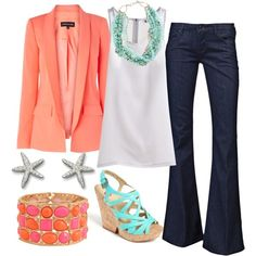 Summer Work outfit -- If I was allowed to wear jeans