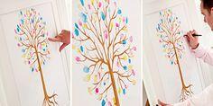 Дерево желаний своими руками для свадьбы