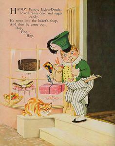 Dean's Gift Book of Nursery Rhymes 1965 children's book