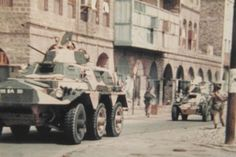 Argyll and Sutherland Highlanders Aden 1967 Armoured Personnel Carrier, Royal Marines, Highlanders, Armored Vehicles, British Army, Military History, Troops, Military Vehicles, Empire