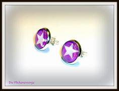 """Trend Ohrstecker """"Stars"""" von Die Flickenzwerge auf DaWanda.com"""