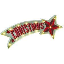 Light up Christmas Shooting Star