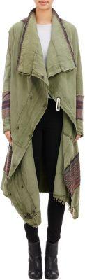 Greg Lauren Blanket Stripe Jacket at Barneys New York