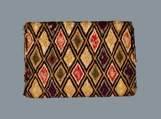 Needlework Pocketbook, Nelly Sudler, Somerset County, MD, 1802, w/ Sudler Family Hair Clippings -- Lot 250 -- September 15, 2012 Maryland Auction -- Crocker Farm, Inc.