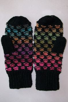 newfoundland mittens ..another fav...Have made too many to count..