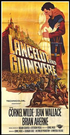 "Sword of Lancelot ""Lancelot and Guinevere"" (original title) Stars: Cornel… Old Film Posters, Movie Poster Art, Old Movies, Vintage Movies, Movie Photo, I Movie, Lancelot And Guinevere, Universal Pictures, Original Movie"