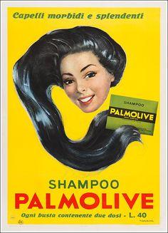 ✔️ Shampoo Palmolive - 1954 by Pietro Nardini