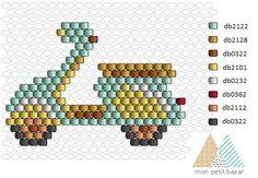 loom beading for beginners Peyote Stitch Patterns, Hama Beads Patterns, Beaded Jewelry Patterns, Beading Patterns, Seed Bead Crafts, Seed Bead Jewelry, Motifs Perler, Bead Loom Bracelets, Peyote Beading