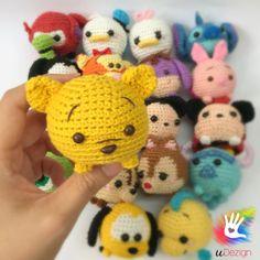 Tsum Tsum Pooh Pattern by uDezignCrafts on Etsy