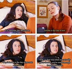 Is it just me or does that make perfect sense?  #GilmoreGirlsIsLife