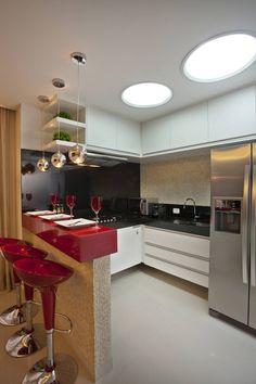 Cocinas modernas de Designer de Interiores e Paisagista Iara Kílaris