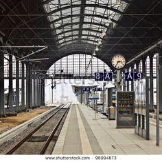 classicistical railway station