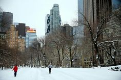 Neve? Não faz mal.. estou em New Iorque!!!